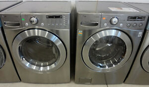 FRONT LOAD WASHER DRYER STACKABLE APART SIZE 27 24 FREE DELIVERY