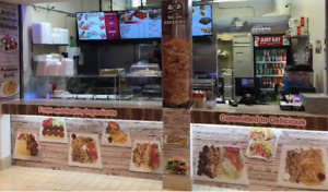 Shawarma Takeout Restaurant (Food Court ) for Sale