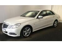 2012 WHITE MERCEDES E220 2.1 CDI EXECUTIVE SE DIESEL SALOON CAR FINANCE FR 37 PW