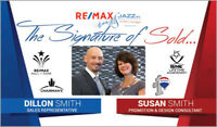 REALTOR - Dillon Smith - Sales Rep AND Susan Smith - Consultant