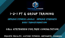 Personal training & small group training