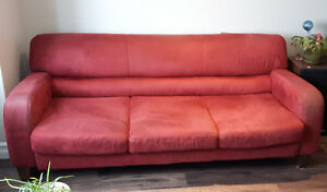 Red Natuzzi Couch