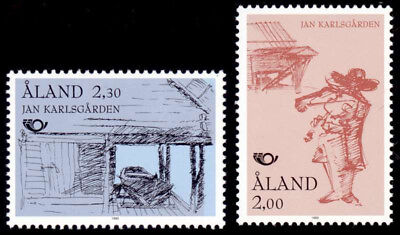 Aland 1993 Nordic Countries Postal Co-operation, Tourism, Boathouse, MNH / UNM