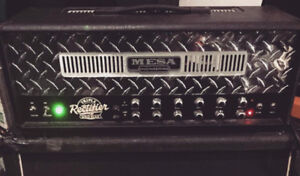 Mesa Boogie Triple Rectifier 1995 rev G +NEW Tubes AND roadcase