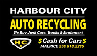 Ca$h For Car$ Nanaimo Www.Harbourcityautorecycling.com