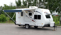 PERFECT CIKIRA ULTRALITE Travel Trailer TAX INCLUDED SEE VIDEO