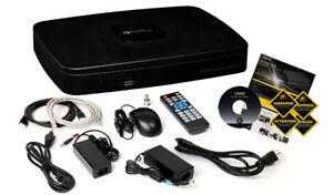 4 Channel Security Video Recorder w/ 4 Cameras & 1TB Hard Drive