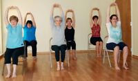 SENIORS CHAIR YOGA AND TEA
