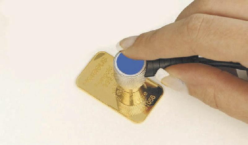 TN-GOLD Strumento misurazione ultrasuoni verifica dell'autenticità dell' ORO