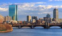 Deux places dispo pour un allé/retour Montréal-Boston