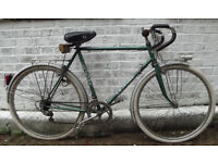 Classic Vintage road bike LEJEUNE old french brand ,frame size 20inch - stylish with character !!