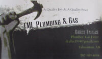 TML Plumbing & Gas - Renovations/ New Builders are Welcomed!