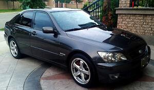 2004 Lexus IS Black Sedan