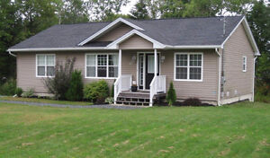 Sweet 4 bedroom bungalow with walkout, is only 4 yrs old!