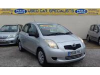 2006 (06) TOYOTA YARIS T3 1.3 SILVER * IDEAL FIRST CAR * FINANCE AVAILABLE *