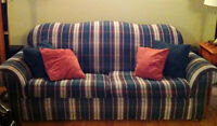 Quality used couch with pullout bed