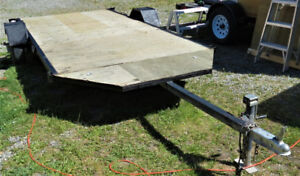 12X6 Flat Bed Boat/UTV/ATV Trailer