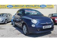 2008 (58) Fiat 500 1.4 SPORT GREY / BLUE * IDEAL FIRST CAR * STUNNING *
