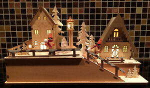 CHRISTMAS VILLAGE DECOR FROM THORNBLOOMS