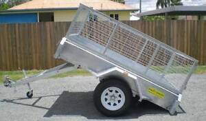6×4 Box Trailer Galvanized Farthers Days deals $$$$ Coopers Plains Brisbane South West Preview