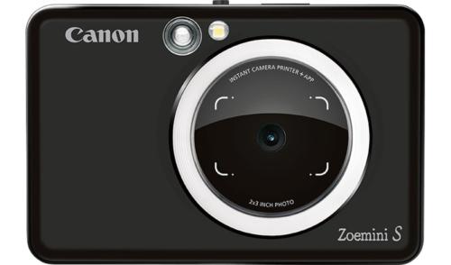 как выглядит Canon Zoemini S Pocket Instant Camera - Matte Black фото