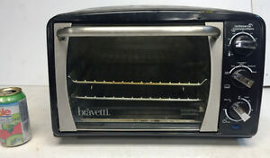 FOUR GRILLE-PAIN À CONVECTION BRAVETTI 6 tranches