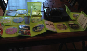 XBOX 360 with 1 controller and 9 Games