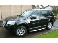 Land Rover Freelander 2 2.2 TD4E 158bhp 4X4 GS 2010 59 reg with 78k miles