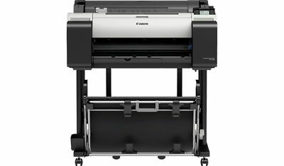Canon Imageprograf Tm-200 24 Printer Plotter 5 Color Pigment Arch-d  ---new---