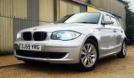 BMW 116d 2009 low mileage diesel exchange with A4 320d or 520d