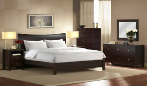 NEW! Contemporary Platform Bed! King ONLY!