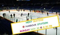 ADULT PUBLIC SKATING @ HARBOUR STATION SAINT JOHN MONDAY NOV 30
