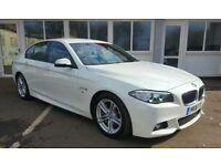 BMW 5 SERIES 525d M Sport (white) 2016