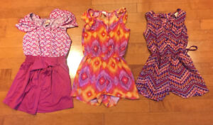 Super Sweet Girls Size 3 Rompers - $10 each