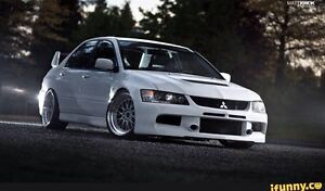 Looking for Evo 8 or 9