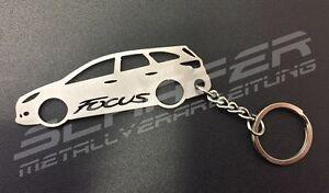 Schlüsselanhänger Edelstahl FORD Focus Mk3 Turnier DYB EcoBoost TDCi ST RS