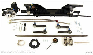 Unisteer 1965 to 1970 Mustang Power Rack and Pinion Conversion
