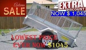 6X4 7X4 7X5 8X5 10X5 10X6FT NEW BOX TRAILERS FROM $1045 SALE 19# Redbank Plains Ipswich City Preview