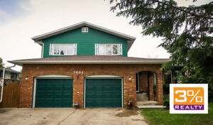 Spacious & Rare 5 Level Split 2025 sqft Home ~ by 3% Realty