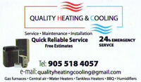 Gas Heating and Cooling Installation and Service
