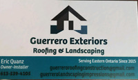 Guerrero Exteriors spring shingle sale