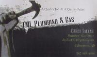 Plumbing/ Gas Services - TML Plumbing