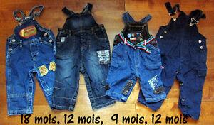 Chemises et salopettes pour bébé de 3 à 24 mois Saguenay Saguenay-Lac-Saint-Jean image 1