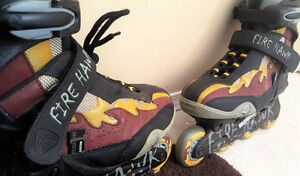 Just used Fire Hawk Roller blades !!