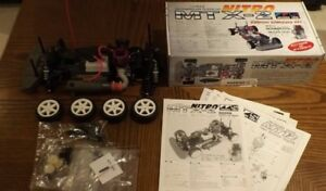 1/10 Gas Powered 4WD Touring Car Chassis & Engine - MTX-2 Nitro