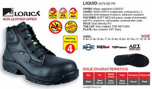 Cofra LIQUID SD Men Safety Shoes NEW Size 9