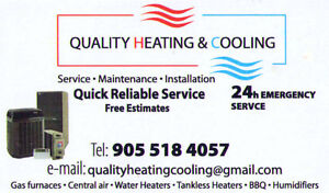 HAMILTON'S OWN GAS SERVICE & INSTALLATION + A/C
