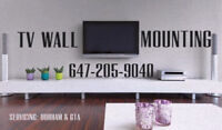 TV WALL MOUNTING AND HANDYMAN SERVICES