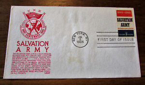 1965 Centenary Salvation Army 5 Cent First Day Cover Kitchener / Waterloo Kitchener Area image 4