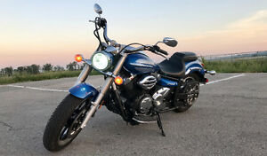 V-STAR 950 | HID | Cold Air-intake | Vance & Hines Pipes | More